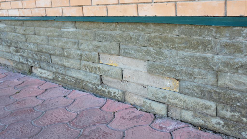 Basement foundation repair