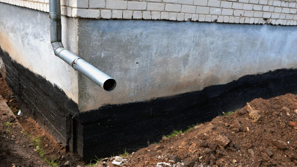 Exterior drainage system