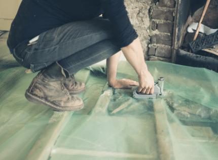 Fixing basement foundation