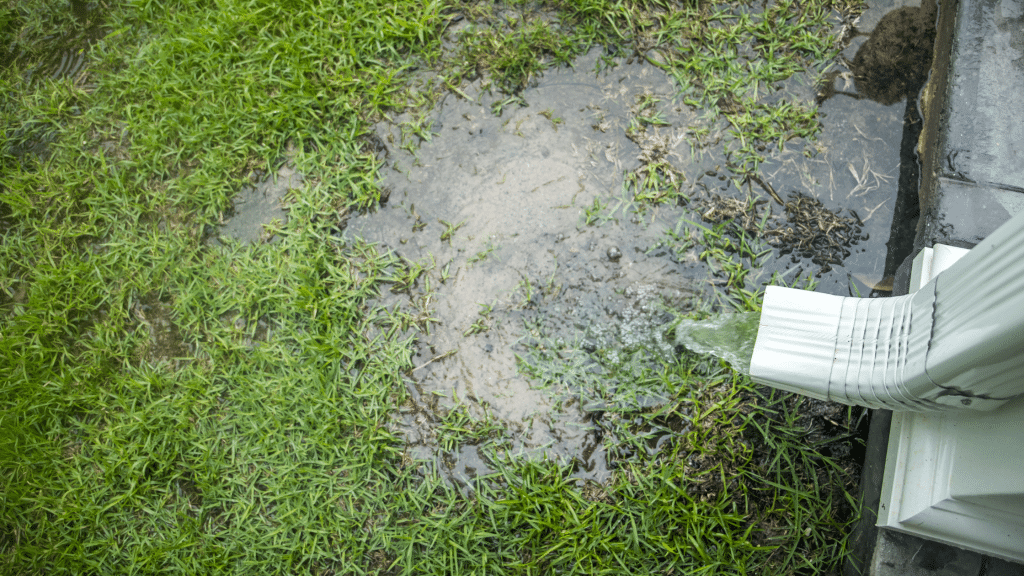 Inadequate drainage system