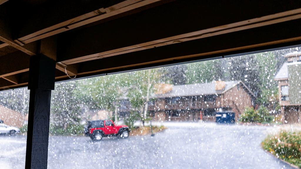 Rainfall in Winston-Salem