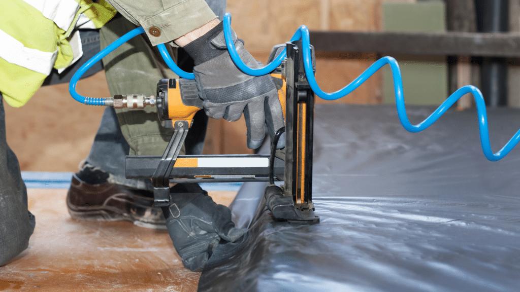 basement waterproofing system.