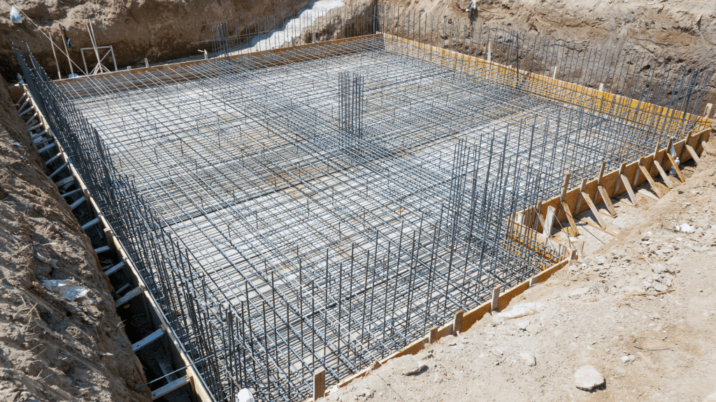 construction for a building