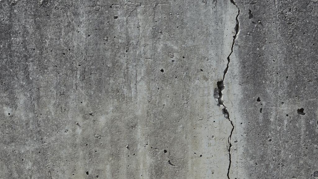 vertical wall cracks