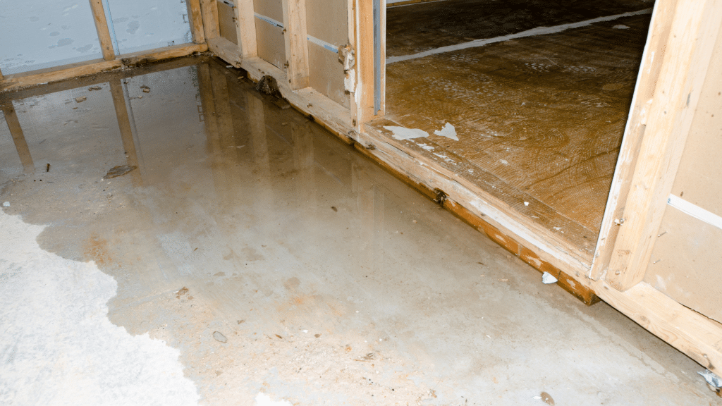 water problems in the basement