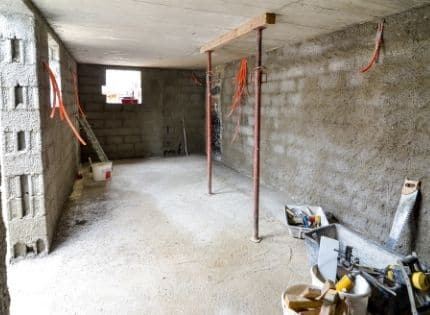 Waterproofing basement space for remodeling