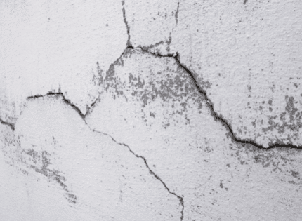 Horizontal brick cracks are almost always a sign of foundational issues