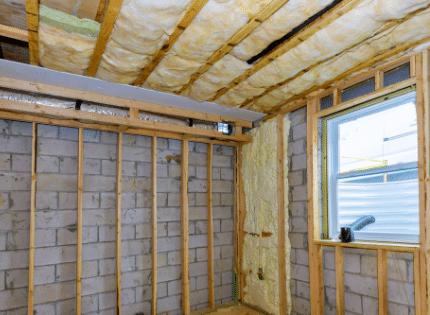 Insulating basement walls